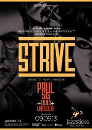 Strive NY-Yellow Band
